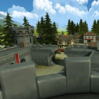 Nouvelle map BF Heroes: Fortress Frenzy.